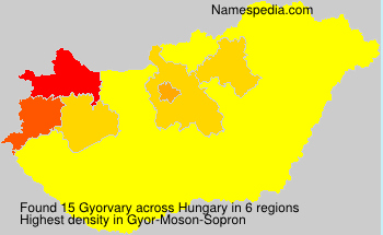 Surname Gyorvary in Hungary