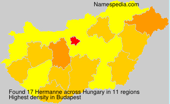 Surname Hermanne in Hungary