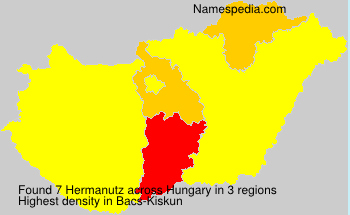 Surname Hermanutz in Hungary