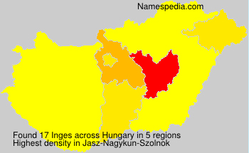 Surname Inges in Hungary