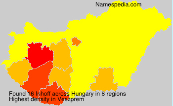 Surname Inhoff in Hungary