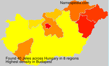 Surname Jeles in Hungary