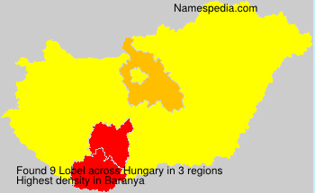 Surname Lobel in Hungary