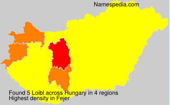 Surname Loibl in Hungary