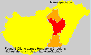 Surname Ollene in Hungary