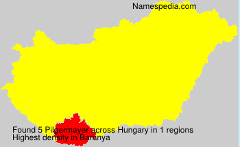 Surname Pilgermayer in Hungary