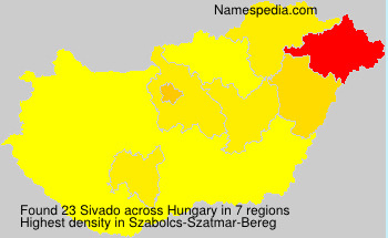 Surname Sivado in Hungary
