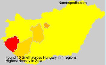 Surname Sneff in Hungary