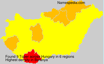 Surname Tober in Hungary
