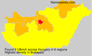 Surname Ulbrich in Hungary