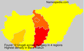 Surname Urogdi in Hungary