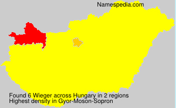 Surname Wieger in Hungary