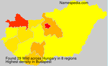 Surname Wild in Hungary