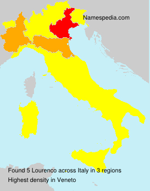 Surname Lourenco in Italy