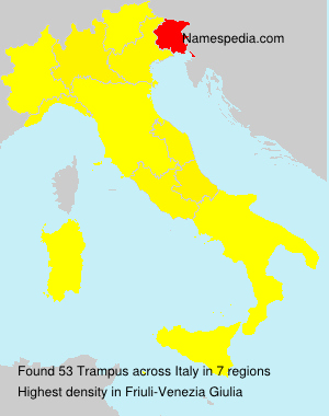 Surname Trampus in Italy