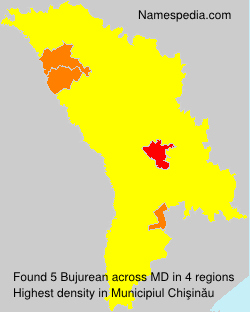 Surname Bujurean in Moldova