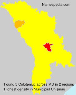 Surname Coloteniuc in Moldova
