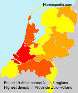Surname Abbe in Netherlands