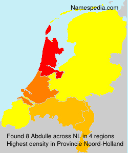 Surname Abdulle in Netherlands