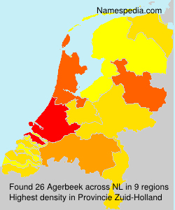 Surname Agerbeek in Netherlands