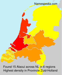 Surname Alaoui in Netherlands