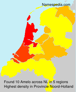 Surname Amelo in Netherlands