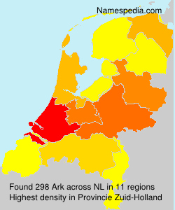 Surname Ark in Netherlands