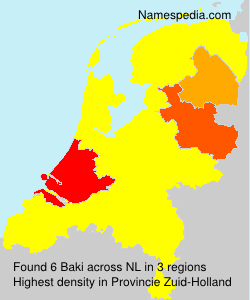 Surname Baki in Netherlands