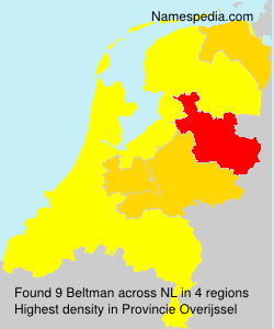 Surname Beltman in Netherlands