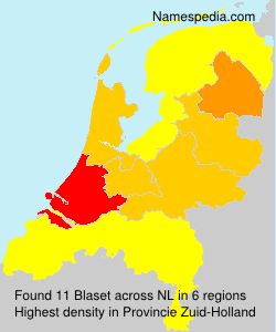 Surname Blaset in Netherlands