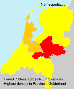 Surname Bless in Netherlands
