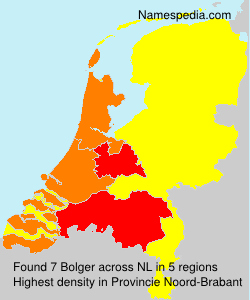 Surname Bolger in Netherlands