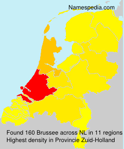 Surname Brussee in Netherlands
