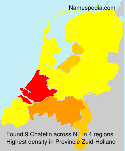 Surname Chatelin in Netherlands