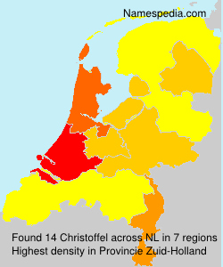 Surname Christoffel in Netherlands