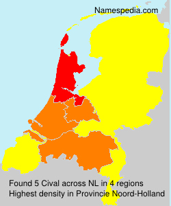 Surname Cival in Netherlands
