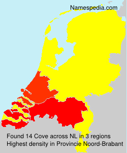 Surname Cove in Netherlands