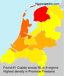 Surname Cupido in Netherlands