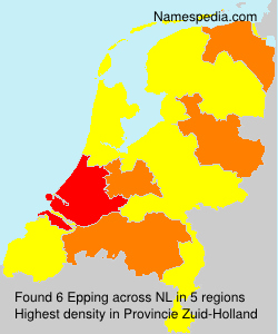 Surname Epping in Netherlands