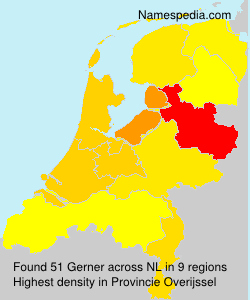 Surname Gerner in Netherlands