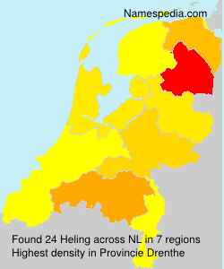 Surname Heling in Netherlands
