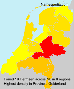Surname Hermsen in Netherlands
