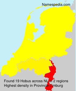 Surname Hobus in Netherlands