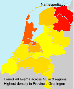 Surname Iwema in Netherlands