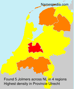 Surname Jolmers in Netherlands