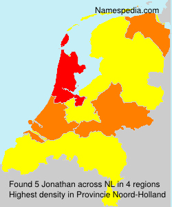 Surname Jonathan in Netherlands