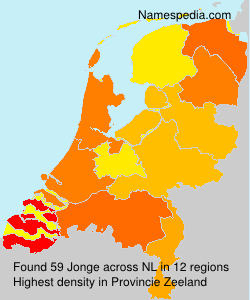 Surname Jonge in Netherlands