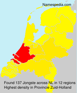 Surname Jongste in Netherlands