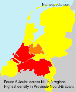 Surname Jouhri in Netherlands