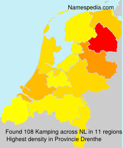 Surname Kamping in Netherlands